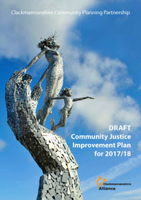 Draft Community Justice Improvement Plan 2017/18 front cover
