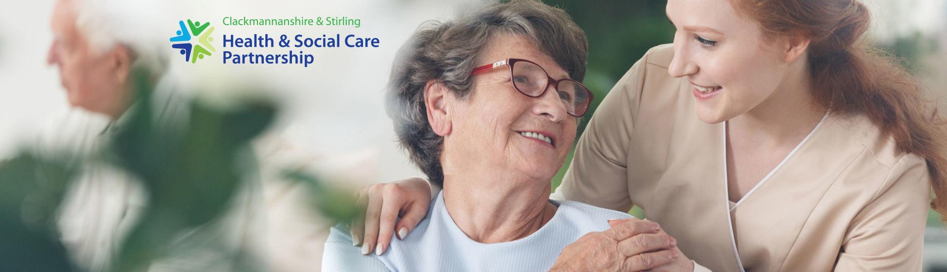 Clackmannanshire & Stirling Health & Social Care Partnership logo